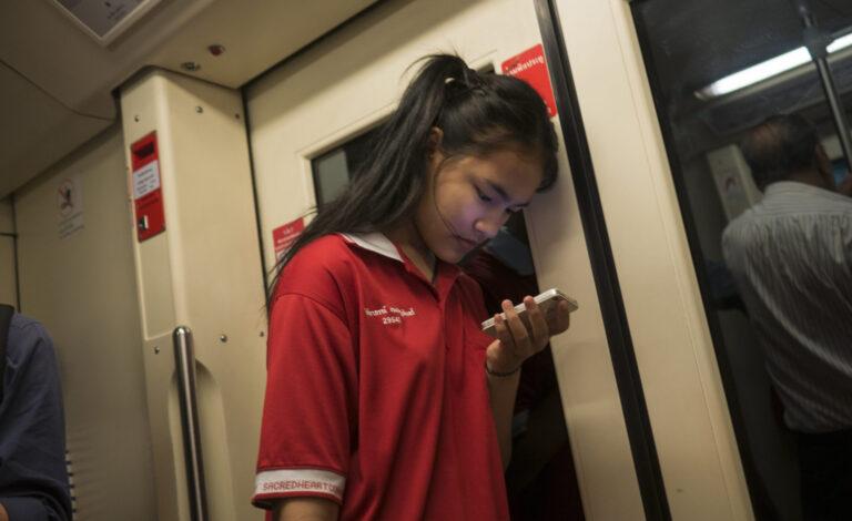 smartphone in asia