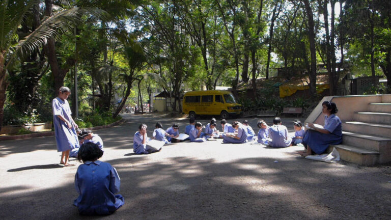 Blind School in India