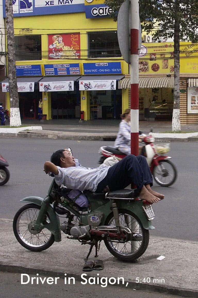 taxi driver in Saigon